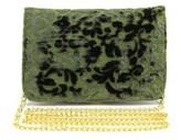 Shiraleah Victoria Women Velour Green Messenger.