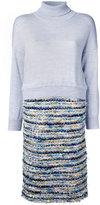 Coohem Bloom Tweed one-piece combi-dress