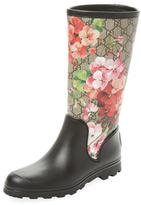 Gucci GG Blooms Rain Boot