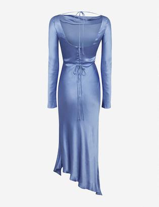 Bec & Bridge Delphine long-sleeve woven midi dress