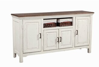 Gracie Oaks Stegall Sideboard Color: White