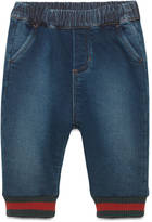 Gucci Baby felted cotton denim pant