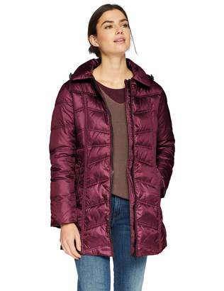 Big Chill Women's Long Down Blend Puffer Jacket with Hood
