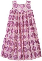 Masala Medallion Gypsy Dress (Toddler/Kid) - Purple-6 Years
