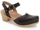 Dansko 'Marta' Ankle Strap Clog