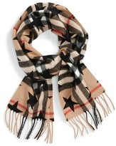 Burberry Girl's Check Cashmere Scarf