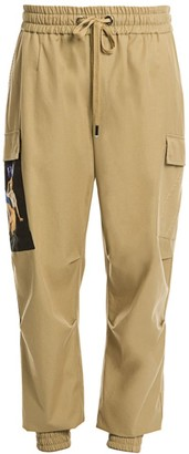 Dolce & Gabbana Drawstring Patch Cargo Pants