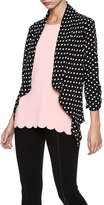 Moa Black White Polka Dot Cardigan