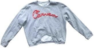 Carven Grey Cotton Knitwear for Women