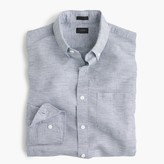 J.Crew Slim Irish cotton-linen shirt in solid