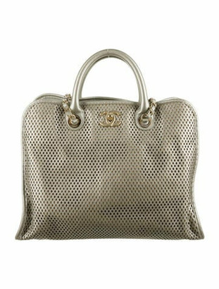Chanel Up In The Air Tote Metallic
