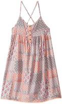 Tommy Hilfiger Button Front Boho Print Dress Girl's Dress