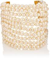 Stazia Loren Women's Multi-Strand Imitation-Pearl Bracelet