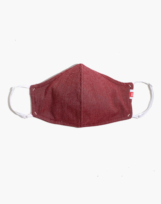 Madewell Hedley & Bennett Face Mask in Red Oxford