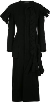Yohji Yamamoto Knitted Wool Dress