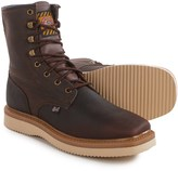 Justin Boots Flakeboard Work Boots - Leather (For Men)
