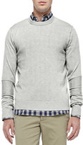 Michael Kors Cashmere Raw-Seam Sweater