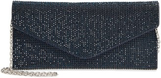 Judith Leiber Couture Beaded Envelope Clutch