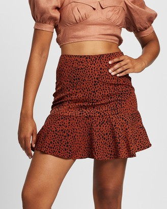 All About Eve Women's Mini skirts - Bowie Flippy Skirt - Size One Size, 6 at The Iconic