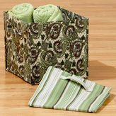 Green Collapsible Canvas Storage Solutions