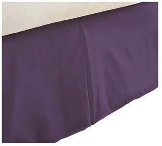 IENJOY HOME Becky Cameron Premium Ultra Soft Luxury Bed Skirt Dust Ruffle, Purple,