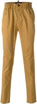 DSQUARED2 elasticated waistband chinos - men - Cotton/Polyester/Polyurethane - 46