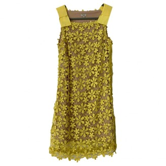 Hoss Intropia \N Yellow Lace Dress for Women
