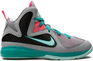 Nike Kids Lebron 9 high-top sneakers