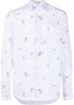 Etro paisley mouse print shirt