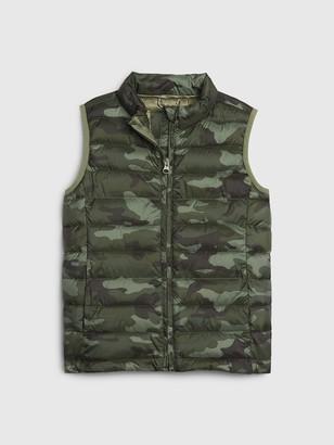 Gap Kids Upcycled Lightweight Puffer Vest
