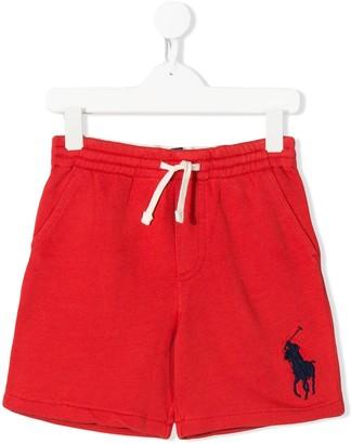 Ralph Lauren Kids Logo-Embroidered Drawstring Shorts