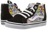 Vans Kids Sk8-Hi Zip Unicorns/True White) Kids Shoes