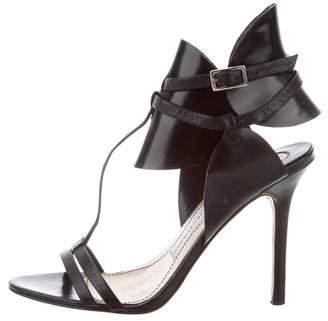 Camilla Skovgaard Leather T-Strap Sandals