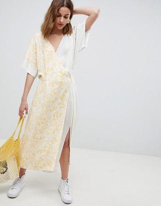 ASOS mixed print dress