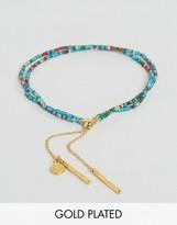 Gorjana Gold Plated Taner Dagger Bead Bracelet