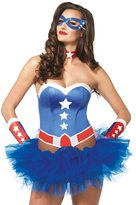 Leg Avenue Women's 4 Piece American Hero Costume Kit