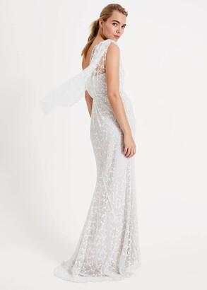Phase Eight Anabel Lace One Shoulder Wedding Dress
