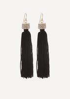 Bebe Jewel Top Tassel Earrings