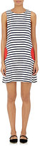 Lisa Perry Women's Striped Ponte-Knit Sleeveless Dress