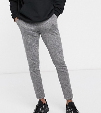 Hatch ASOS DESIGN Tall smart super skinny trousers in charcoal cross