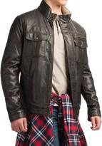 Levi's Faux-Leather Trucker Jacket - Sherpa Lining (For Men)