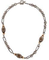 David Yurman Smoky Quartz Bijoux Necklace