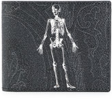 Etro skeleton print bifold wallet - men - Cotton/Calf Leather/Nylon/PVC - One Size