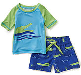 Starting Out Baby Boys 3-24 Months Alligator Tee & Swim Shorts Set