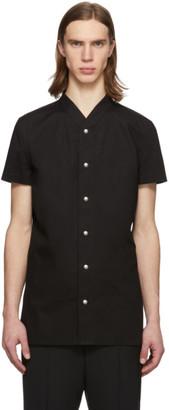 Rick Owens Black Golf Shirt