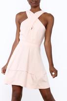 Hommage Blush Sleeveless Dress