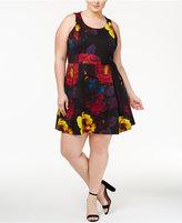 Rachel Roy Trendy Plus Size Fit & Flare Dress