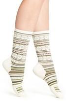 Smartwool Women's Print Merino Wool Blend Crew Socks