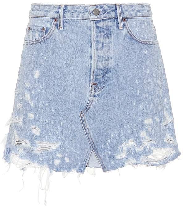 7053f70449 Grlfrnd Denim Skirt - ShopStyle