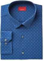 Alfani Men's Slim-Fit Stretch Dot Print Dress Shirt, Created for Macy's